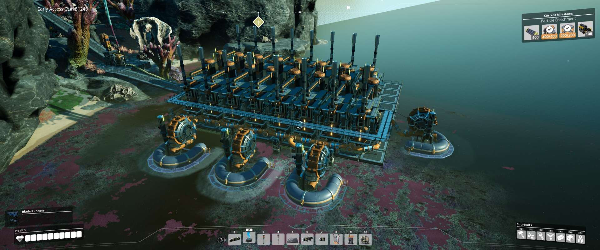 Sulphuric Acid Outpost (Geothermal powered)