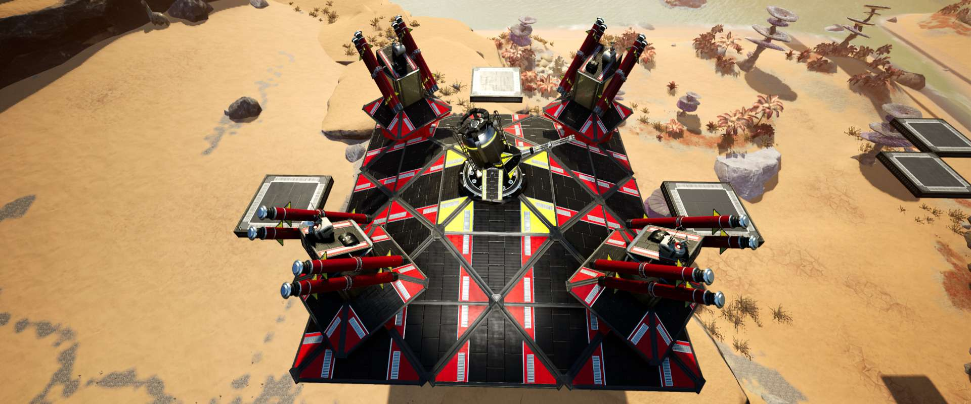 roof 3x3 pyramidal Weaponed