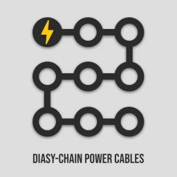 Daisy Chain Power Cables