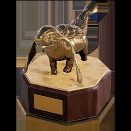 Lizard Doggo Statue