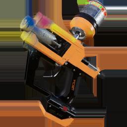 Pistola de color