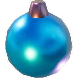 Blue FICSMAS Ornament