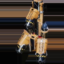 Réacteur dorsal