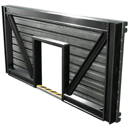 Center Door Wall (Sheet Metal)